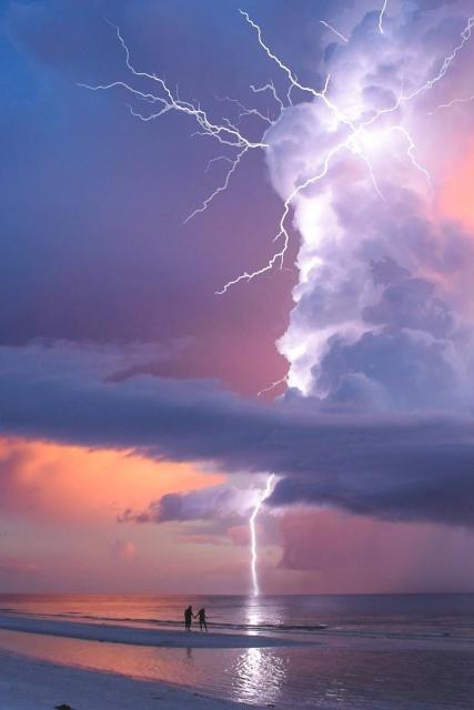 Onweer met pracht